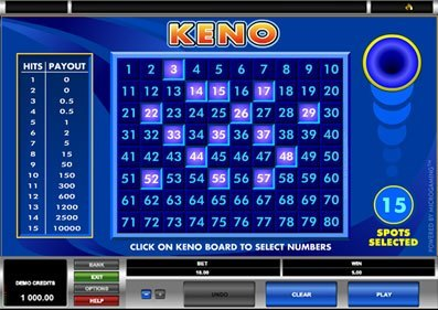 Keno Games, Tips & Free Rules