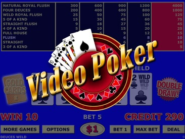 Play free Video Poker games online at play-keno.info