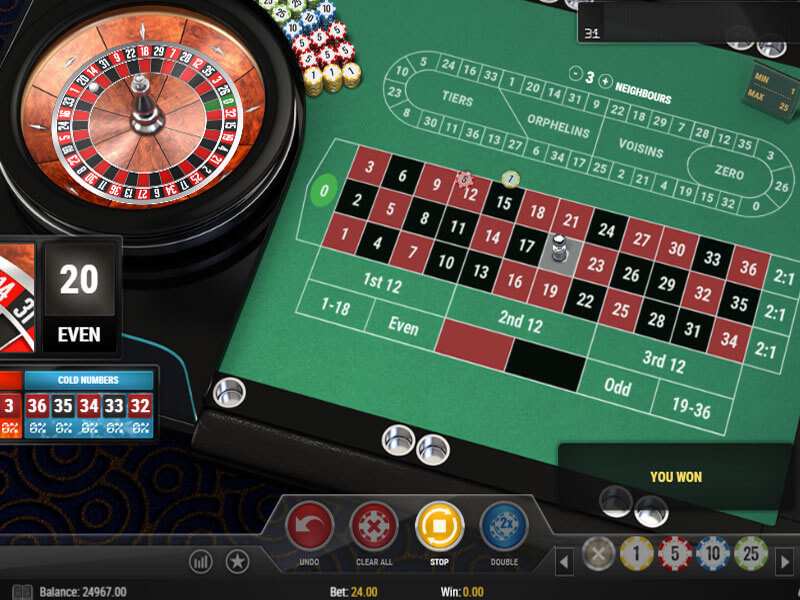"""Gamblers know American Roulette as the """"double-zero roulette."""" In , some greedy establishments added the thirty-eighth sector to French Roulette—00—to get even more profit.Currently, the house edge in American Roulette for almost all bets is %.It is almost twice as much as the house edge in European Roulette."""